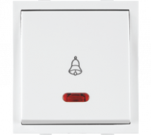 Roma Roma White, 10A, Bell Push  Switch With Neon - Features, Specifications - ROMA CLASSIC SWITCHES Online India - Anchor by Panasonic