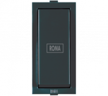 Roma Black Roma Black,10AX, 1 Way Switch With Fan Mark - Features, Specifications - ROMA CLASSIC SWITCHES Online India - Anchor by Panasonic