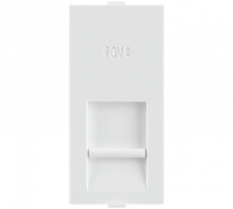 Roma White Roma White, RJ 45, Computer Socket Cat 5e - Features, Specifications - Support Module Online India - Anchor by Panasonic