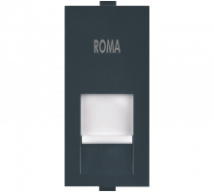 Roma Roma Black, RJ 45, Computer Socket Cat 5e - Features, Specifications - Support Module Online India - Anchor by Panasonic