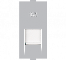 Roma Silver Roma Silver, RJ 45 Computer Socket Cat 5e - Features, Specifications - Support Module Online India - Anchor by Panasonic