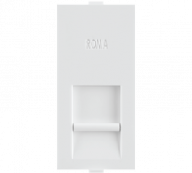 Roma White Roma White, RJ 45, Computer Socket Cat 6  - Features, Specifications - Support Module Online India - Anchor by Panasonic