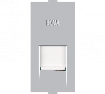 Roma Roma Silver, RJ 45 Receptor - Features, Specifications - Support Module Online India - Anchor by Panasonic