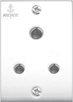 Penta 6A, 3 Pin Socket - Features, Specifications - Socket Online India - Anchor by Panasonic
