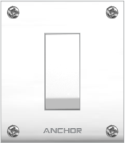 Penta Capton Series 20A, 2 Way Switch - Features, Specifications - Switches Online India - Anchor by Panasonic