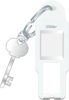 Rider Only Key Tag with Key Ring - Features, Specifications - Hospitality Range Online India - Anchor by Panasonic
