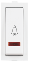 Rider Bell Push Slim Switch with indicator  - Features, Specifications - Switches Online India - Anchor by Panasonic