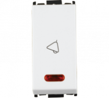 Woods 10AX Bell Push Switch with Indicator - Features, Specifications - Switches Online India - Anchor by Panasonic