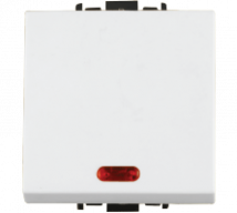 Woods 10AX 1way switch with Indicator Large Features, Specifications - Switches Online India - Panasonic Life Solutions India