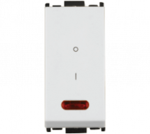 Woods 20A S.P 1Way Switch with Indicator - Features, Specifications - Switches Online India - Anchor by Panasonic