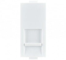 Woods Telephone Jack RJ11 Single with Shutter - Features, Specifications - Support Module Online India - Anchor by Panasonic