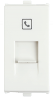 Penta Modular RJ11, Tel Jack with Shutter,1MFeatures, Specifications - Communication & Data Socket Online India - Anchor by Panasonic