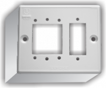 Penta 2  Gang Domestic Surface Mounting Box For Switches - Features, Specifications - Surface & Domestic Boxes Online India - Anchor by Panasonic