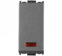 Woods 20A 1Way Switch with Indicator  Features, Specifications - Switches Online India - Panasonic Life Solutions India