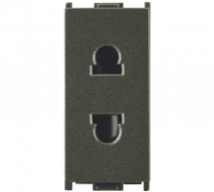 Woods 6A 2 Pin URO Socket Features, Specifications - Sockets Online India - Panasonic Life Solutions India