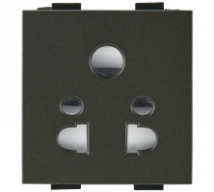 Woods 6A Multi Socket For 2 and 3 Pin Plug - Features, Specifications - Sockets Online India - Anchor by Panasonic