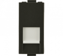 Woods Telephone Jack RJ11 Single  with Shutter Features, Specifications - Support Module Online India - Panasonic Life Solutions India