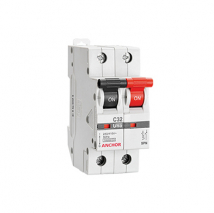 SPN MCB 'C' TYPE | Switchgear & Protection Devices | Anchor Electricals
