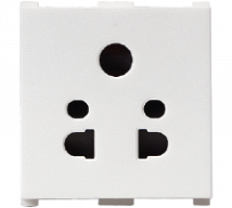 Vision (Panasonic) 10A, 2 Module,2/3 Pin Multi Socket - Features, Specifications - Sockets Online India - Anchor by Panasonic