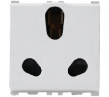 Vision (Panasonic) 16/6A, 3 Pin, 2 Module Twin Socket Features, Specifications - Sockets Online India - Panasonic Life Solutions India