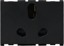 Vision (Panasonic) 16/6A, 3 Pin, 3 Module Twin Socket - Features, Specifications - Sockets Online India - Anchor by Panasonic
