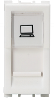 Vision (Panasonic) 1 Module, RJ45  Computer Socket Cat 5e - Features, Specifications - Sockets Online India - Anchor by Panasonic