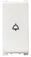 Vision (Panasonic) 10AX, 250V, 1 Way, 1 Module Bell Push Switches   - Features, Specifications - Switches Online India - Anchor by Panasonic