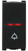 Vision (Panasonic) 10AX , 250V,  1 Way, 1 Module Bell Push Switches  With LED Indicator  - Features, Specifications - Switches Online India - Anchor by Panasonic