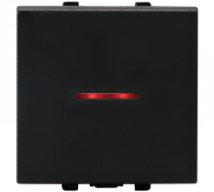 Vision (Panasonic) 16AX, 250V, 1 Way, 2 Module Switches With LED Indicator  Features, Specifications - Switches Online India - Panasonic Life Solutions India