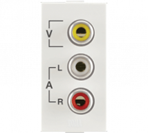 Roma Roma Audio Video Socket  - Features, Specifications - Sockets Online India - Anchor by Panasonic