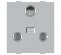 Roma Silver Roma Silver, 16A, 3 Pin Socket (Heavy Duty) - Features, Specifications - Sockets Online India - Anchor by Panasonic