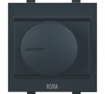 Roma Roma Black Dimmer For Halogen Dura 650W - Features, Specifications - Fan Regulators and Dimmers Online India - Anchor by Panasonic