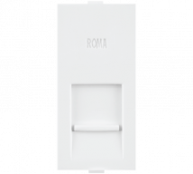 Roma Roma White Only Frame For Cat 5 with Shutter - Features, Specifications - Support Module Online India - Anchor by Panasonic