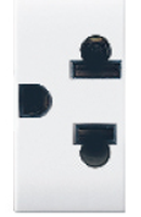 AVE 2 Pin Euroamerican Socket - Features, Specifications - Domus Online India - Anchor by Panasonic