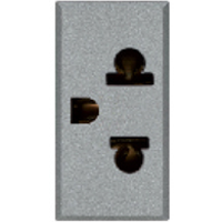 AVE 2 Pin Euroamerican Socket  - Features, Specifications - Allumia Online India - Anchor by Panasonic