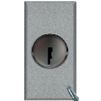 AVE 16AX 1 Way double pole switch  with key - Features, Specifications - Allumia Online India - Anchor by Panasonic