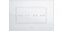 AVE Clear white for 4 switch actionFeatures, Specifications - Ave Touch Online India - Anchor by Panasonic