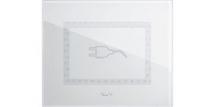 Clear white - plug symbol | Anchor