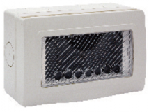IP55 - Surface mounting box (44ST04) | Anchor Electricals