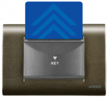 Woods 20A 30second time delay electronic key card unit 3 module - Features, Specifications - Hospitality Range Online India - Anchor by Panasonic