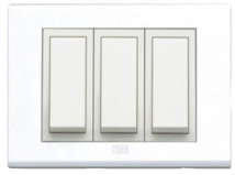 Roma Roma  Lira  Plates  With White Frame   - Features, Specifications - Lira Plates Online India - Anchor by Panasonic