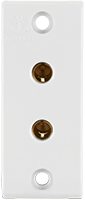 6A, 2 Pin Socket