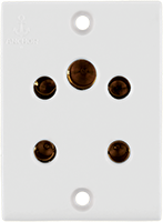 Penta 6A, Multisocket for 2 & 3 Pin - Features, Specifications - Socket Online India - Anchor by Panasonic