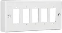 Penta 5 Gang Surface Mounting Box For Switches - Features, Specifications - Surface & Domestic Boxes Online India - Anchor by Panasonic