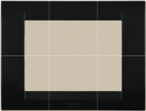 Roma Roma Tresa Black Cover Frame Features, Specifications - ROMA Colours Online India - Panasonic Life Solutions India