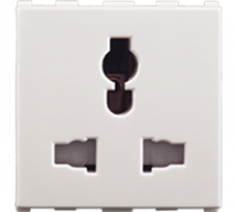 Roma 6A/10A/13A, Combi Socket fot all Pins, 2M - Features, Specifications - Sockets Online India - Anchor by Panasonic