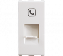 Roma RJ11, Tel Jack, Single with Shutter, 1M Features, Specifications - Support Module Online India - Panasonic Life Solutions India