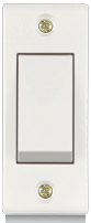 Penta 6A, 1 way switch, Urea Back piece(IP 20) - Features, Specifications - Switches Online India - Anchor by Panasonic
