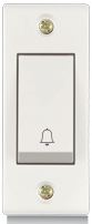 Penta Cherry, 6A, Bell Push Switch - Features, Specifications - Switches Online India - Anchor by Panasonic