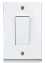 Penta 20A, 1 Way Power Switches (2 Fixing Holes) - Features, Specifications - Switches Online India - Anchor by Panasonic